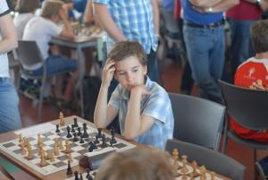 Daniel Kutchoukov 100% score aan bord 1!