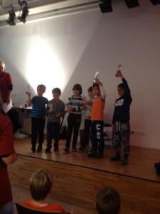 Scholierentoernooi 1 nov. Winnaars Groep 4